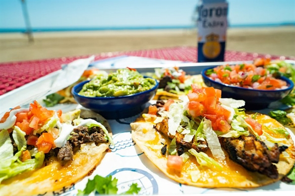 The Dock at Bradford Beach: Tacos