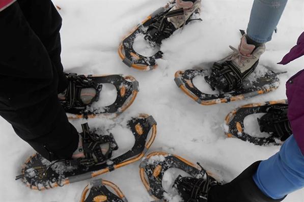 Winter Snowshoeing at Urban Ecology Center - Riverside Park