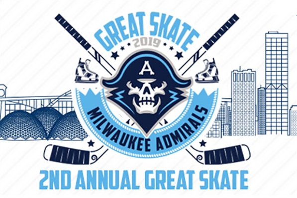 Great Skate with the Milwaukee Admirals