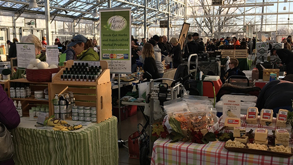 Winter Farmers Market at The Domes