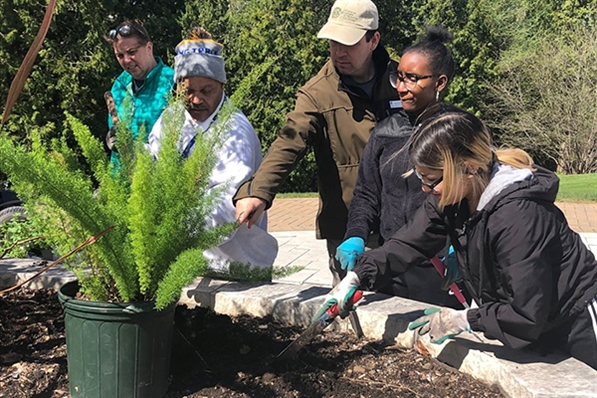 Friends of Boerner Botanical Gardens Volunteers