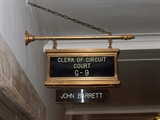 Milwaukee County Clerk of Circuit Court's ground level entrance sign