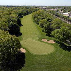 Brown Deer Park Golf Course - Hole 8