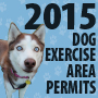 2015 Dog Exercise Area Icon