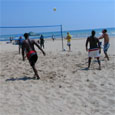 Volleyball at Bradford Beach