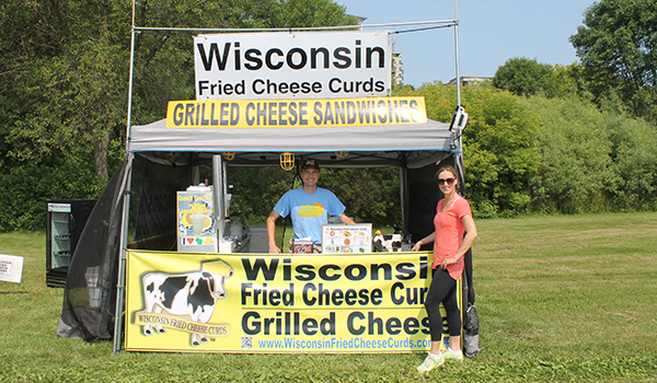 Wisconsin Fried Cheese Park Vending