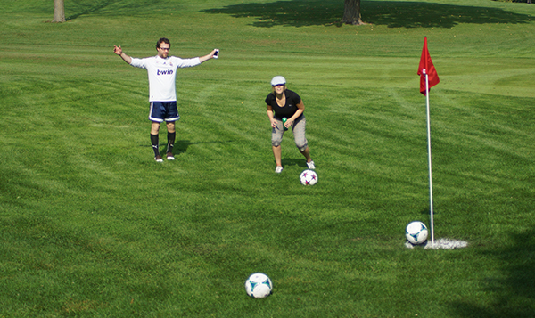 FootGolf Game in Lincoln Park