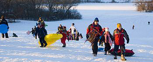 Sledding - The best sledding hills in north america