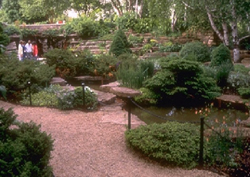 Rock Garden at Boerner Botanical Gardens