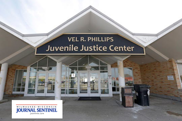 Vel R Phillips Youth & Family Justice Center entrance
