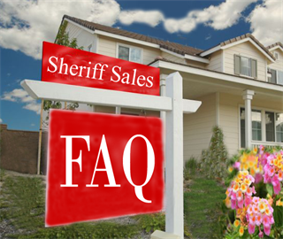 Sheriff sales FAQ