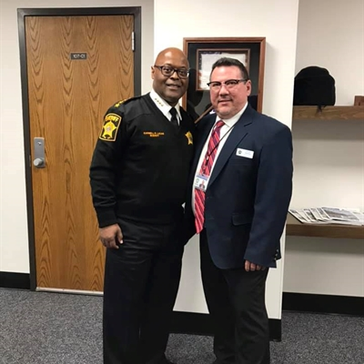 Sheriff Lucas Meets With ROD Israel Ramon