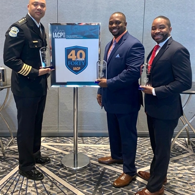 Captain Hannah Recognized At IACP's 40 Under 40