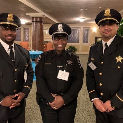 Captain Hannah, Deputy Joshua, Captain J. Briggs At The MCSO Awards Ceremony